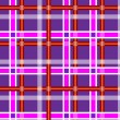 Mottled dark purple seamless background with white red and light purple stripes — 图库矢量图片
