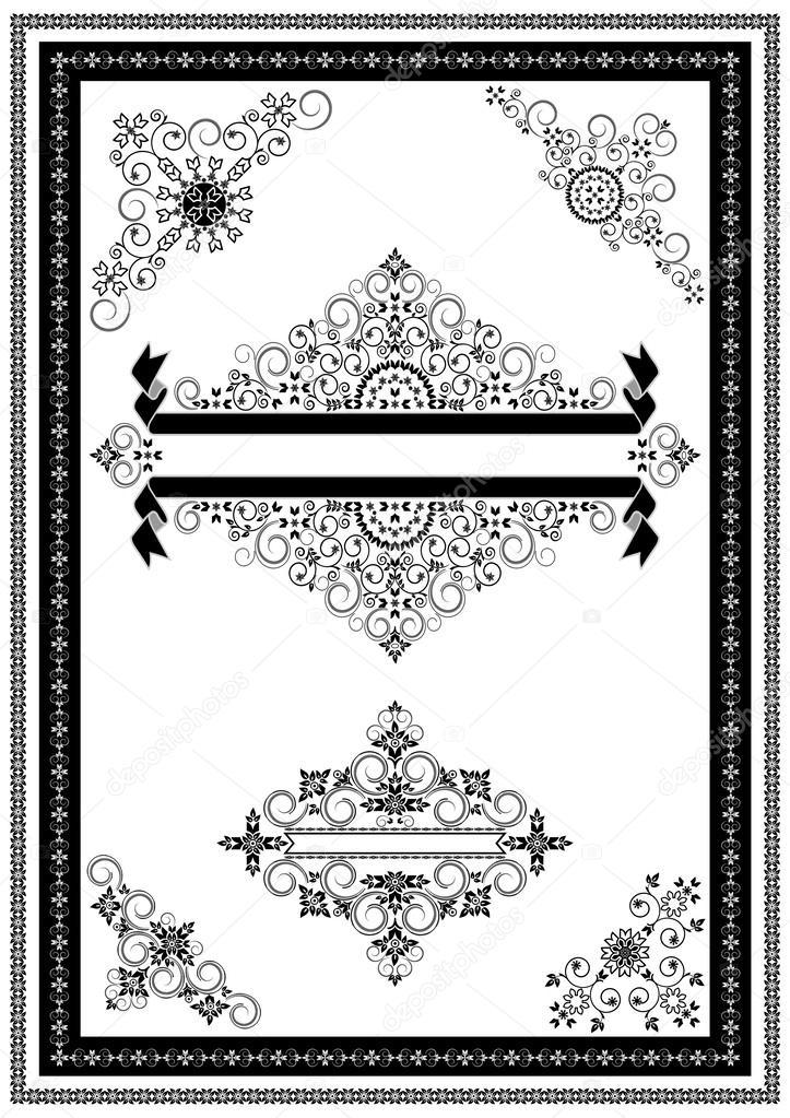 Adornos de esquinas y banners para p ginas de decoraci n for Adornos para paginas