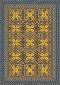 Pompous classic pattern for carpet — Vettoriale Stock