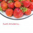 Freshs strawberry. — Stock Photo #12628820