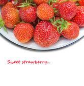 Freshs strawberry. — Stock Photo