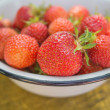 Freshs strawberry. — Stock Photo