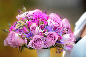 Beautiful bridal bouquet — Stock Photo