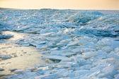Baltské moře zimní krajina — Stock fotografie
