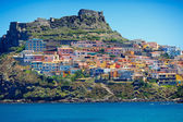 Medieval town Castelsardo, Sardinia, Italy — Stock Photo