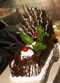 Cocolate cake — Stock Photo