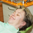 Lady on dental examination — Stock Photo