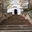 Church stairs — Stock Photo