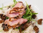 Grilled pork sirloin — Stock Photo