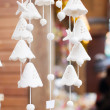 Ceramic wind chimes — Stock Photo