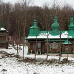 Wooden church in Szczawne — Stock Photo