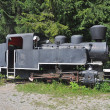 Stock Photo: Historic locomotive