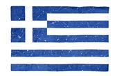 Grekland flaggan — Stockfoto