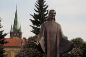 Jesus sculpture in Presov — Stock Photo
