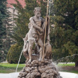 Neptune fountain — Stockfoto