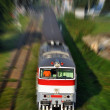 Train in motion — Stockfoto #13551081