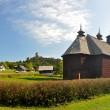Stara Lubovna wooden church — Stockfoto