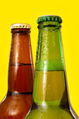 Beer bottles detail — Foto Stock