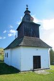 カルナ roztoka の木造教会 — ストック写真