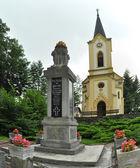 Rajecke teplice kilisede — Stok fotoğraf
