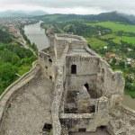 Strecno Castle — Stock Photo