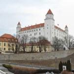 братиславский замок — Стоковое фото #17828767
