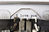 I love you — Stock Photo