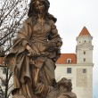 Alzbeta Durinska statue - Stock Photo