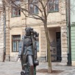 Постер, плакат: Hans Christian Andersen statue