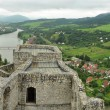 Strecno Castle panorama — Stock Photo