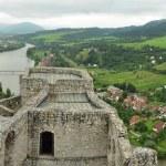 Strecno Castle panorama — Stock Photo