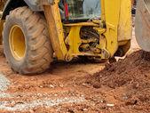 挖掘机详细照片 — 图库照片