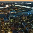 Sydney cityscape - Stock Photo