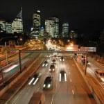 Night sydney traffic — Stock Photo #7626877