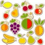 Fruits set — Stock Vector #18421329