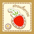 Royalty-Free Stock Vector Image: Strawberries