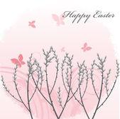 Gałązki wierzby wiosną — Wektor stockowy
