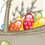 Easter basket — Stock Vector #21072531