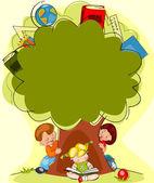 Tree of knowledge — Stock Vector