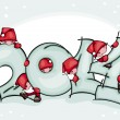 Banner new 2014 year — Stock Vector #31545269