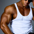 Handsome muscular man — Stock Photo #15618951