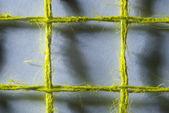 макро грубого белья ячейки сетки. — Стоковое фото