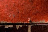 从两个老框的红色和棕色的颜色背景. — 图库照片