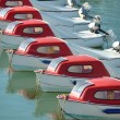 Red & white boats — Stock Photo #12136902