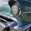 Old Chevy headlight detail — Stock Photo