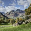 The Langdale Pikes from Copt Howe — Stock Photo #38989739