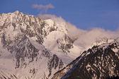 Mountains above Courchevel — Stock Photo