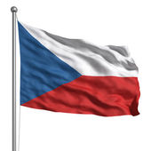 Flag of the Czech Republic — Stock Photo