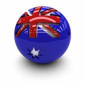 флаг австралии — Стоковое фото