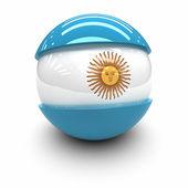 国旗的阿根廷 — 图库照片